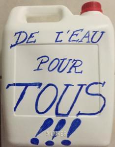 De l'eau pour tous à Saint-François photo Aurelie Aubry Jean-Noel sur Facebook