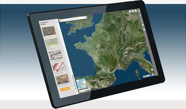 GeoPort-tablette