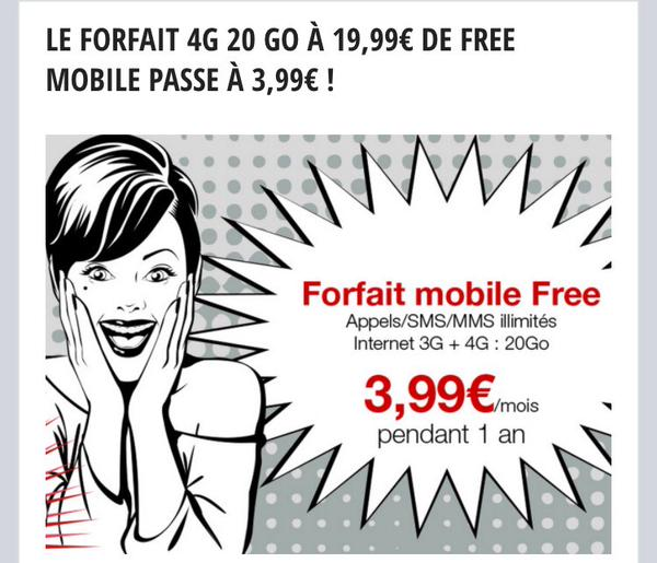 forfait 4G 20 Go